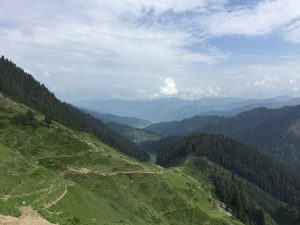 Scene on a road to Bhaderwah from Sarthal