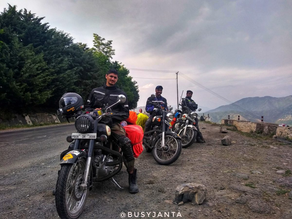Ladakh ride 2018 | Day 1 | Jalandhar to Srinagar | BusyJanta